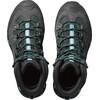Salomon W's Quest 4D 2 GTX Shoes Asphalt/Green Black/Haze Blue